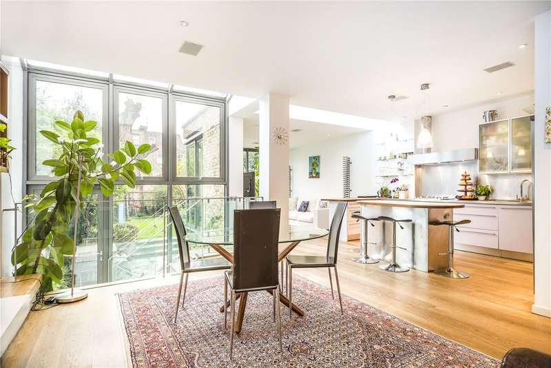 6 Bedrooms Semi Detached House for sale in Bromfelde Road, Clapham, London, SW4