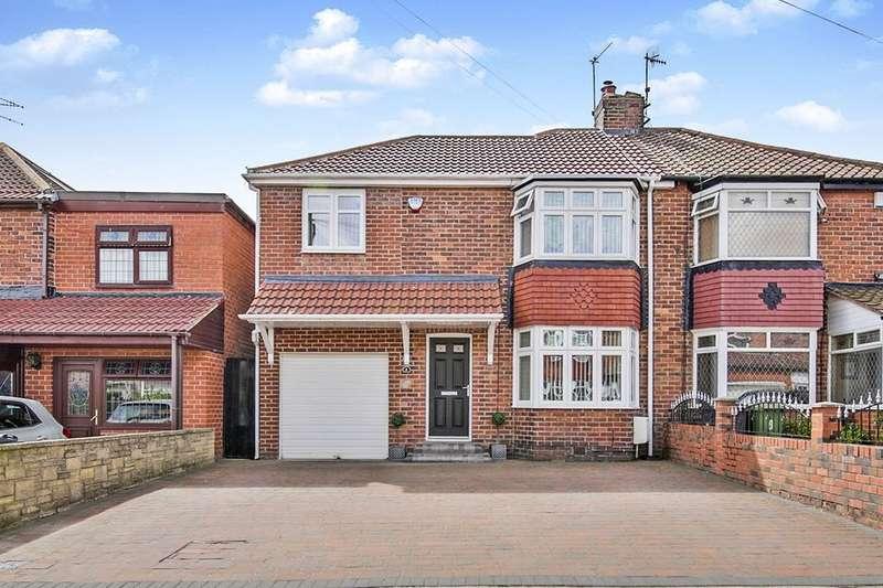 3 Bedrooms Semi Detached House for sale in Titlington Grove, Hebburn, NE31
