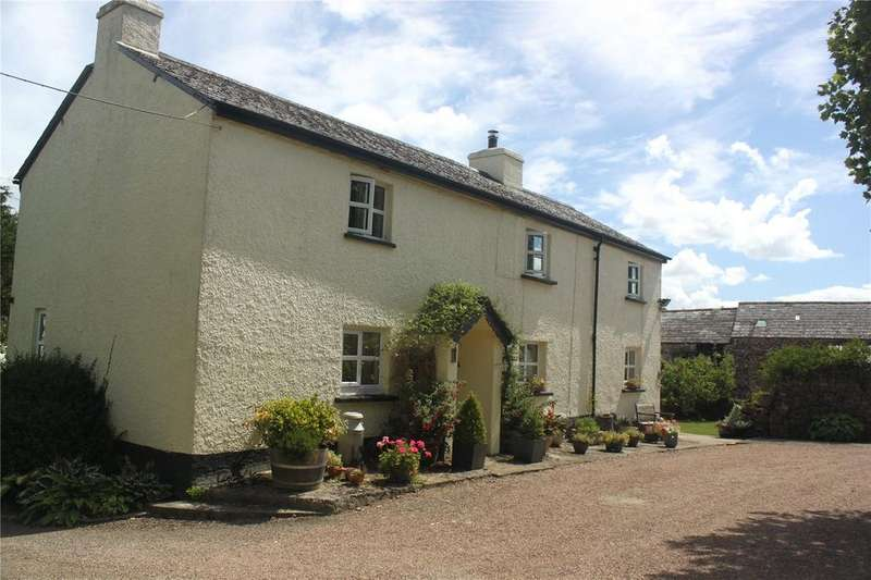4 Bedrooms House for sale in Higher Cross Farm, St. Giles-on-the-Heath, Launceston, Devon, PL15