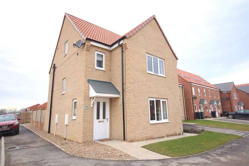4 Bedrooms Detached House for sale in Ferrous Way, North Hykeham, LN6