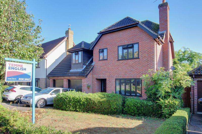 4 Bedrooms Detached House for sale in Goldcrest Close, Colchester