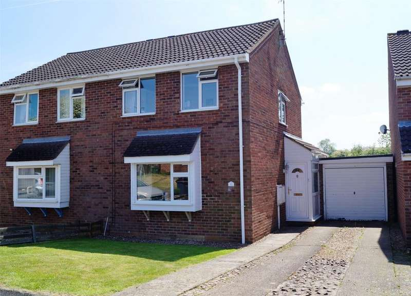 2 Bedrooms Semi Detached House for sale in Eagles Drive, Melton Mowbray, Leicestershire