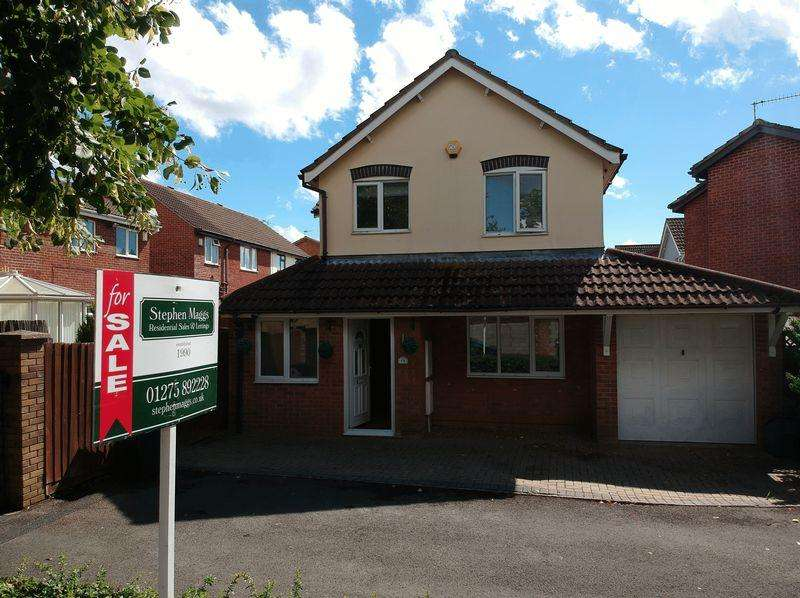 3 Bedrooms Detached House for sale in Wedgwood Close, Whitchurch, Bristol, BS14