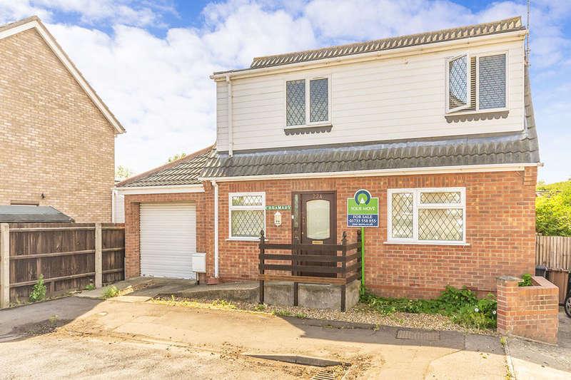 2 Bedrooms Detached House for sale in Fairmead Way, Peterborough, PE3