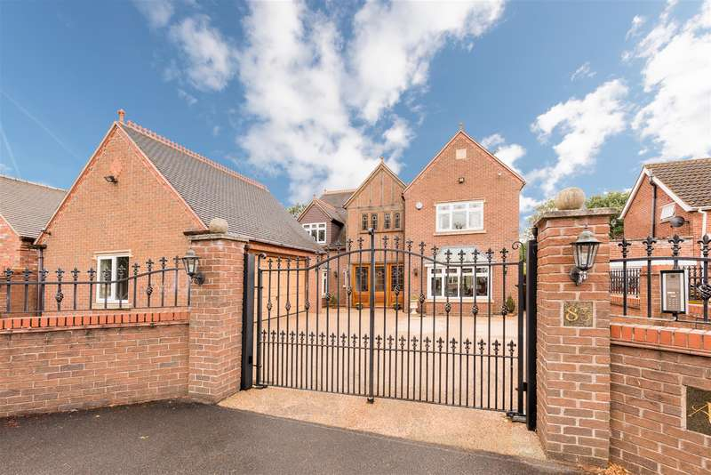 4 Bedrooms Detached House for sale in Arlington, School Road, Himley, DY3 4LG