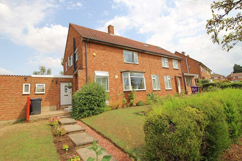 3 Bedrooms Semi Detached House for sale in Mountjoy, Hitchin, SG4