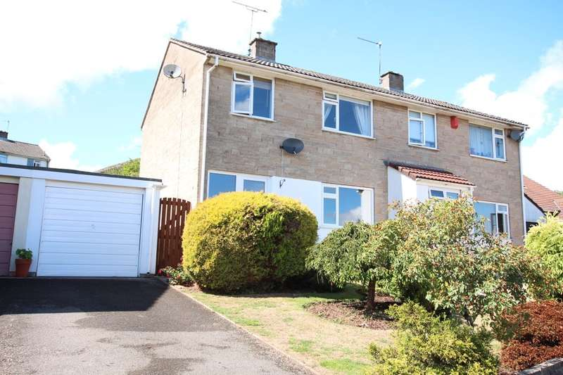 3 Bedrooms Semi Detached House for sale in Kingwell View, High Littleton, Bristol, BS39