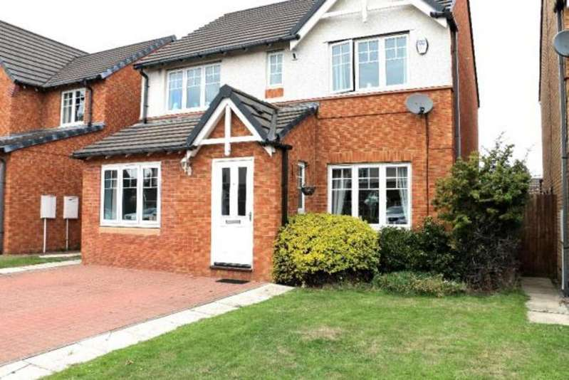 4 Bedrooms Detached House for sale in Torcross Way