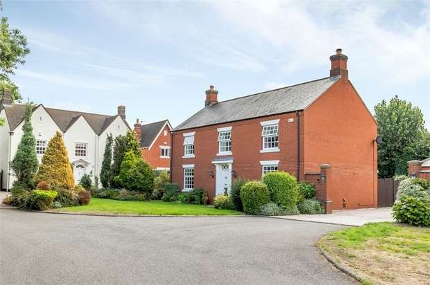 4 Bedrooms Detached House for sale in Longlands Place, Abbots Bromley, Rugeley, Staffordshire