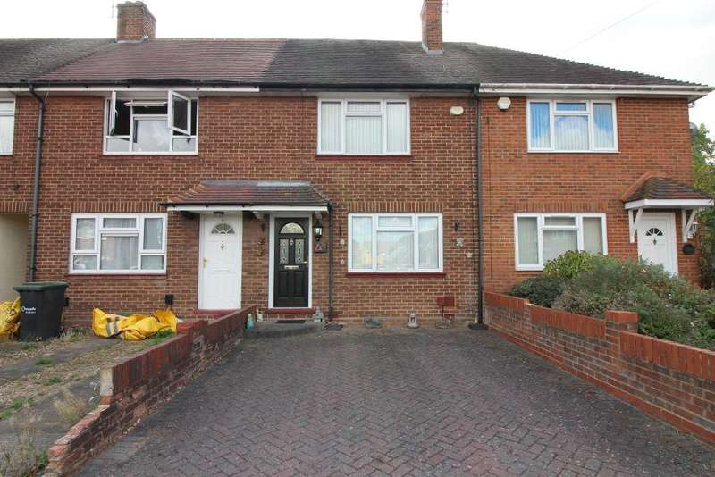 2 Bedrooms Terraced House for sale in Broxley Mead, Luton, Bedfordshire, LU4 9HP