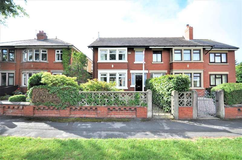 3 Bedrooms Semi Detached House for sale in Lytham Road, Warton, Preston, Lancashire, PR4 1AY