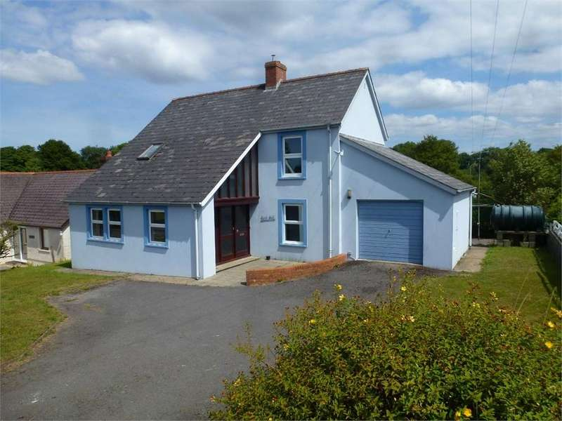 3 Bedrooms Detached House for sale in Dulais, Blaenffos, Boncath, Pembrokeshire