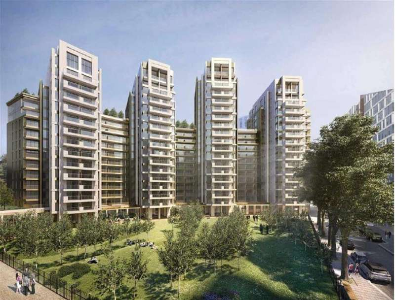 4 Bedrooms Apartment Flat for sale in North Wharf Road, London