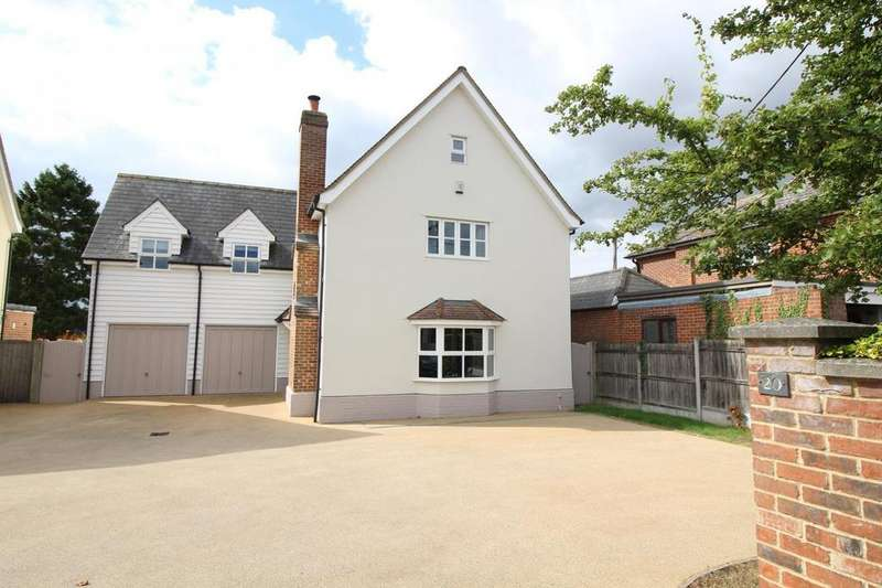 5 Bedrooms Detached House for sale in Malting Green Road, Layer De La Haye CO2