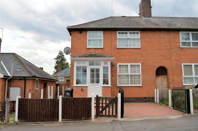 3 Bedrooms Semi Detached House for sale in Swannington Road, Leicester