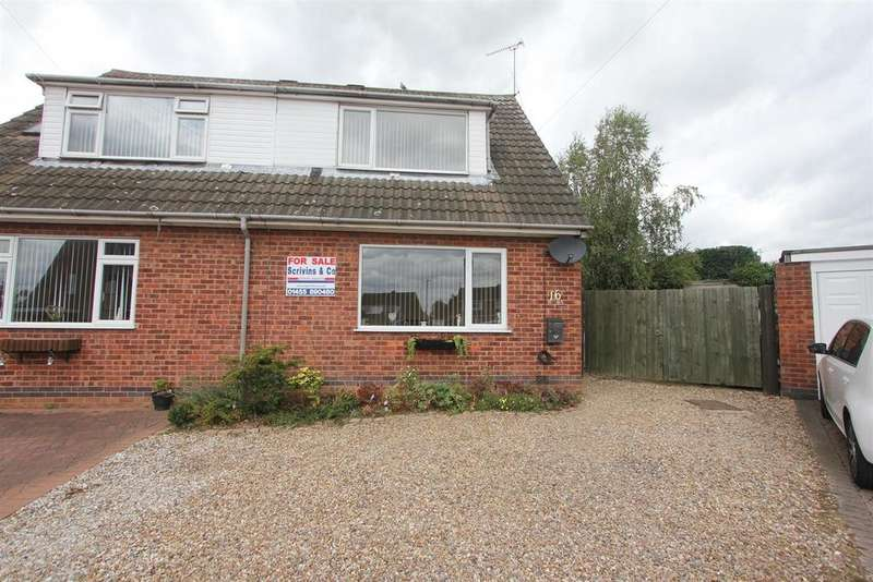 3 Bedrooms Semi Detached House for sale in Lime Grove, Earl Shilton