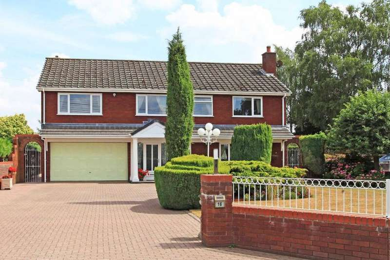 5 Bedrooms Detached House for sale in Marsh Road, Edgmond