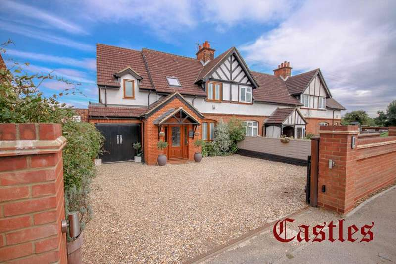 4 Bedrooms Semi Detached House for sale in Crooked Mile, Waltham Abbey, Essex, EN9