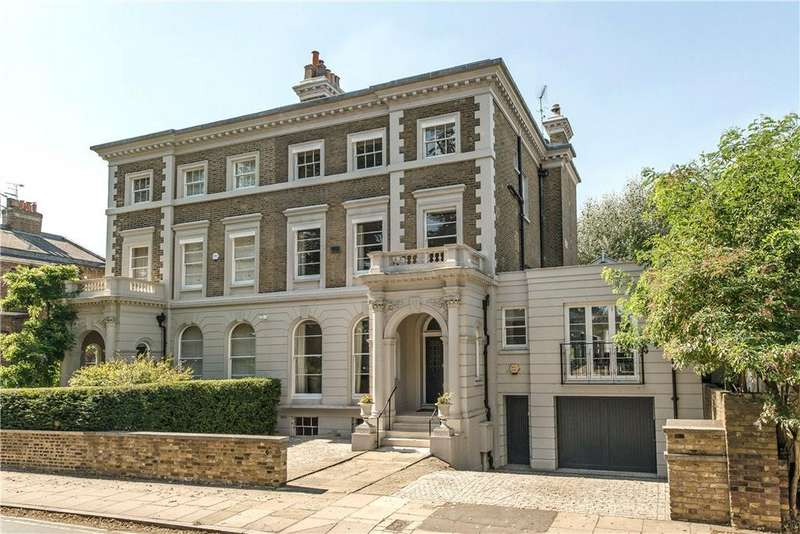 6 Bedrooms Semi Detached House for sale in Pembroke Villas, The Green, Richmond, TW9