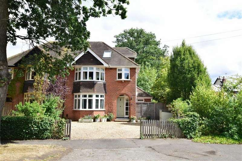 4 Bedrooms Semi Detached House for sale in Kidmore End Road, Emmer Green, Reading