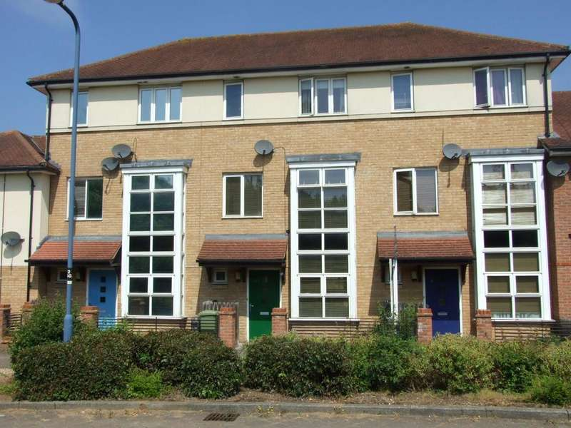 3 Bedrooms Terraced House for sale in Seaton Grove, Broughton, Milton Keynes MK10