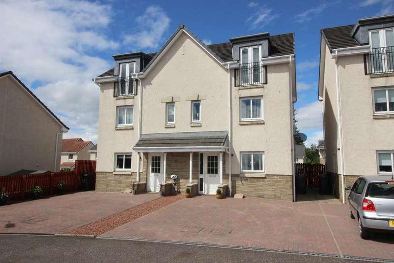 3 Bedrooms Semi Detached House for sale in 50 Gooseholm Crescent, Dumbarton, G82 2AR