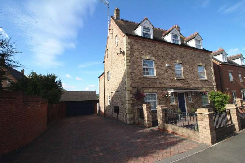 5 Bedrooms Detached House for sale in Maxwell Drive, Loughborough