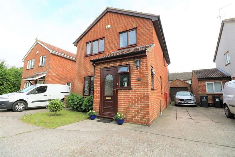 4 Bedrooms Detached House for sale in Chadwick Close, Northfleet, Gravesend