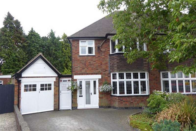 3 Bedrooms Semi Detached House for sale in Ensbury Gardens, Evington