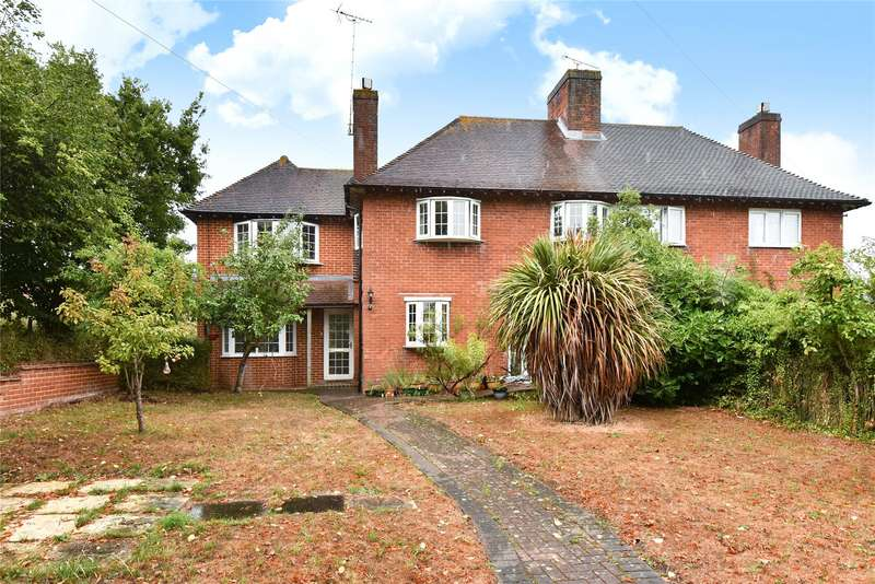 4 Bedrooms Semi Detached House for sale in Lower Broadmoor Road, Crowthorne, Berkshire, RG45