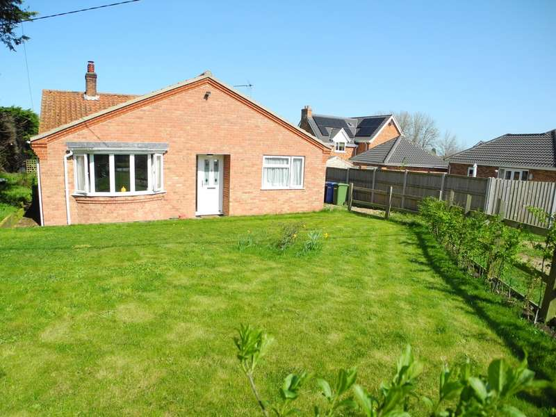 3 Bedrooms Detached Bungalow for sale in Beccles Road, Bungay