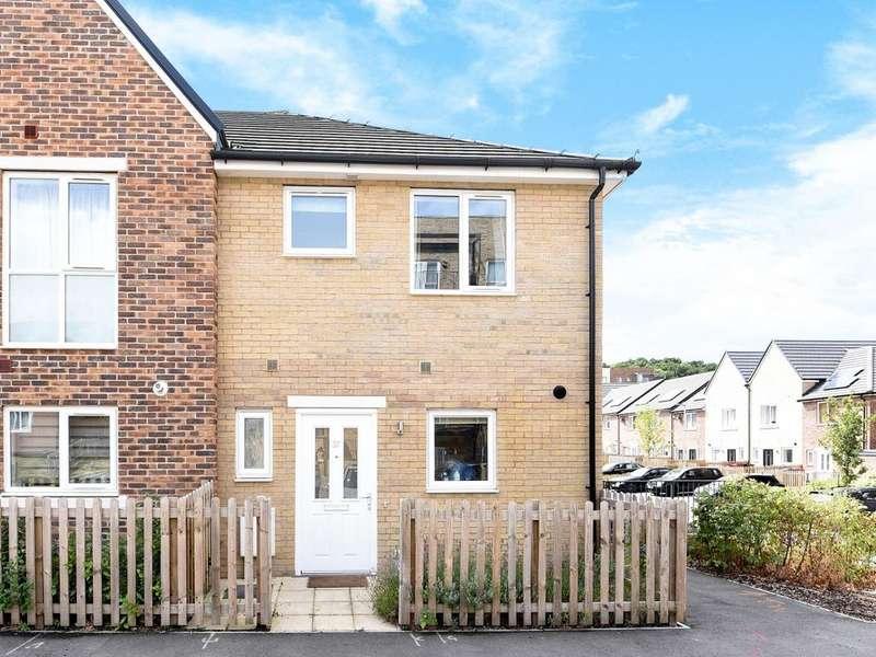 3 Bedrooms End Of Terrace House for sale in Eddleston Way, Tilehurst, Reading, RG30
