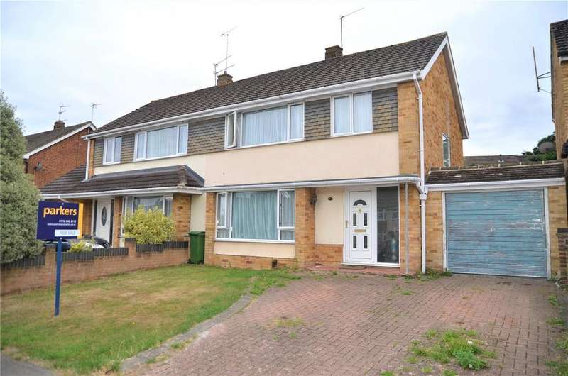 3 Bedrooms Semi Detached House for sale in Hildens Drive, Tilehurst, Reading, Berkshire, RG31
