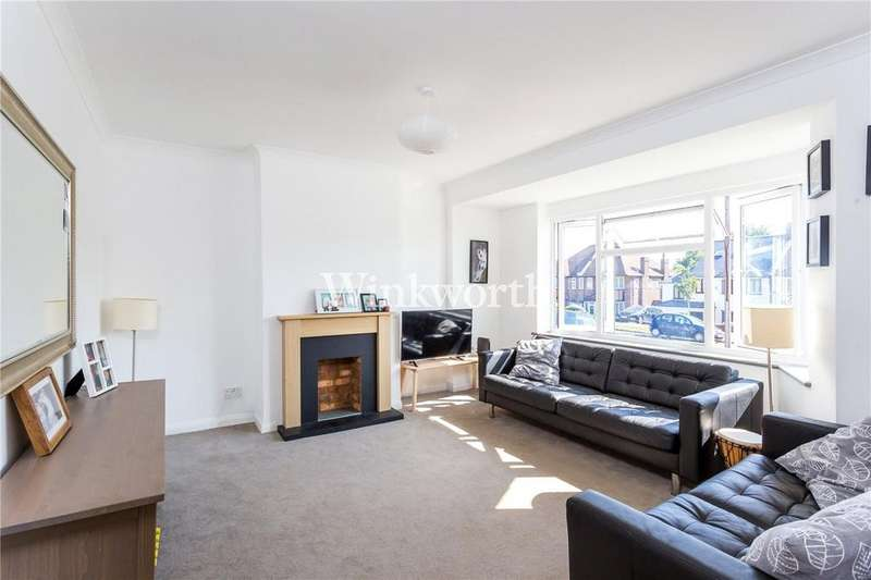 4 Bedrooms Semi Detached House for sale in Morton Way, London, N14