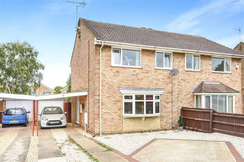 3 Bedrooms Semi Detached House for sale in Broughton Gardens, Lincoln, LN5