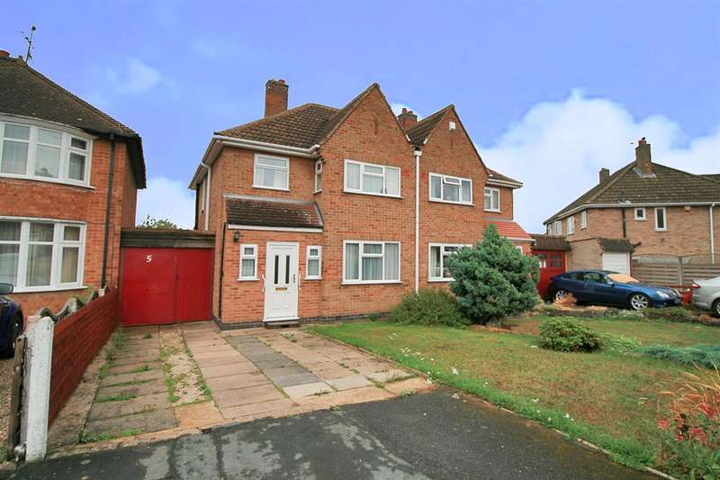 3 Bedrooms Semi Detached House for sale in Barngate Close, Leicester