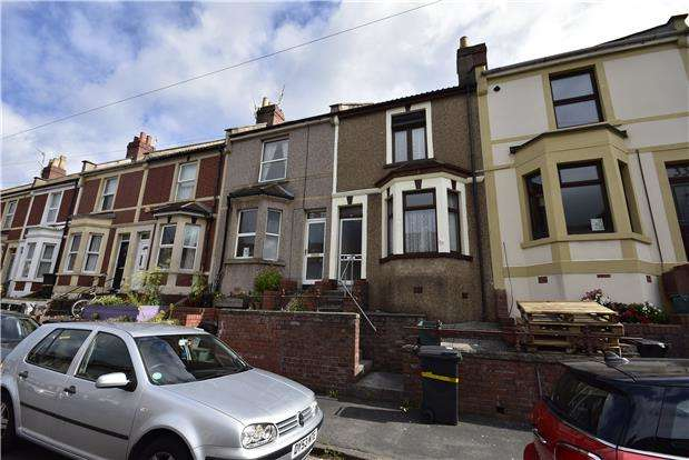 2 Bedrooms Terraced House for sale in West View Road, Bedminster, Bristol, BS3 3JL