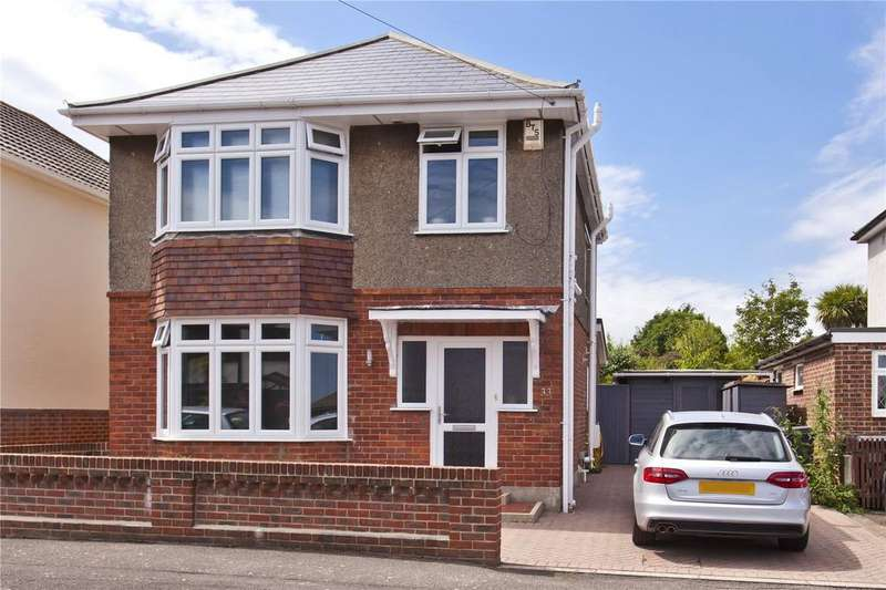 3 Bedrooms Detached House for sale in Hood Crescent, Bournemouth, Dorset, BH10