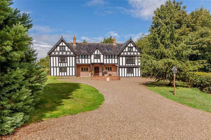 5 Bedrooms Detached House for sale in Brynore, Criftins, Ellesmere, Shropshire