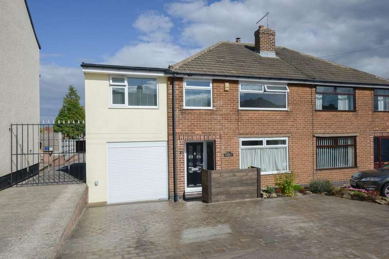 3 Bedrooms Semi Detached House for sale in Manor Road, Brimington, Chesterfield