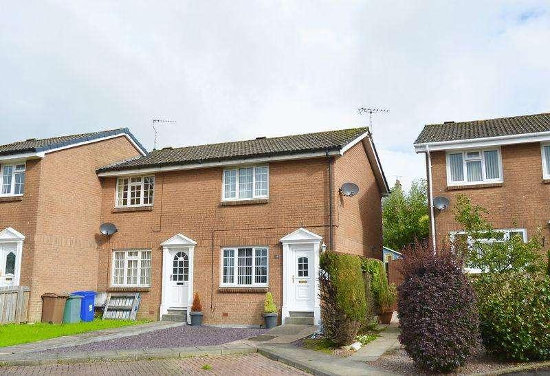 2 Bedrooms Semi-detached Villa House for sale in Ladycross Place, Maybole