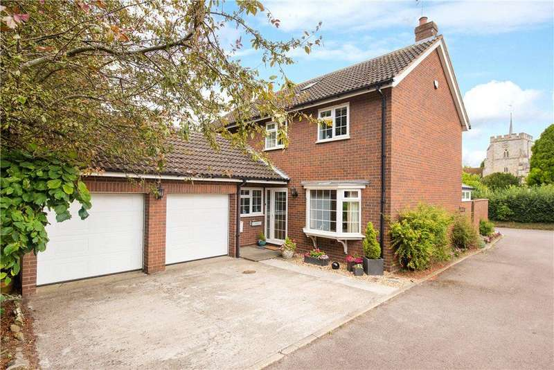 5 Bedrooms Detached House for sale in St. Marys Close, Pirton, Hitchin, Hertfordshire
