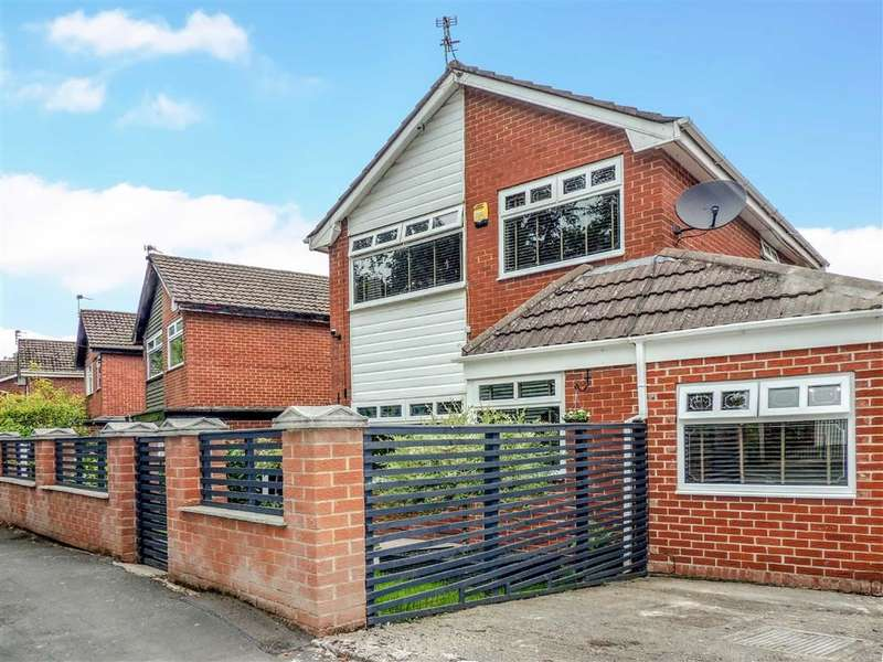 3 Bedrooms Detached House for sale in Highfield Avenue, Romiley, Stockport