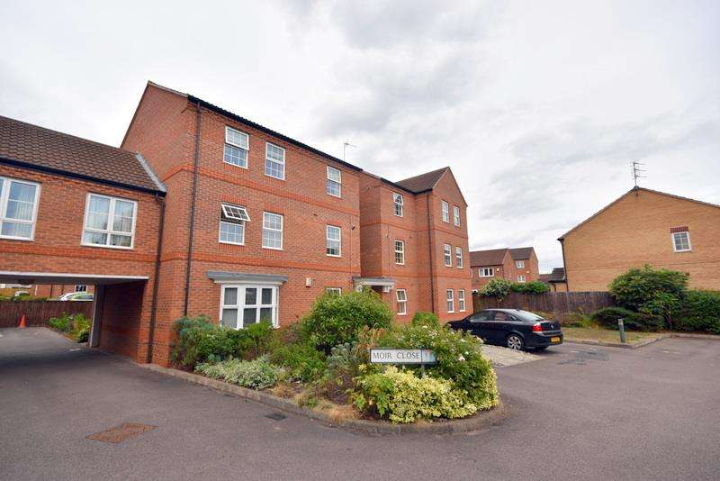 2 Bedrooms Apartment Flat for sale in Moir Close, Sileby, Loughborough