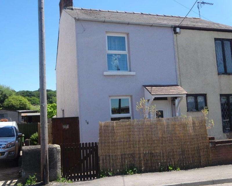 2 Bedrooms Semi Detached House for sale in Valley Road, Cinderford