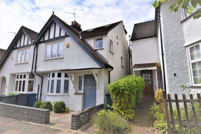 4 Bedrooms Semi Detached House for sale in Temple Grove, Temple Fortune
