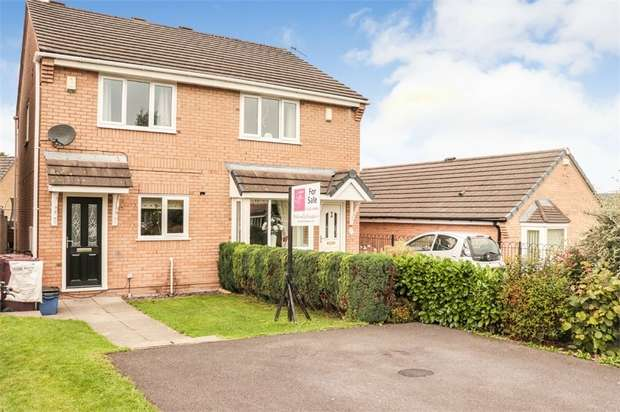 2 Bedrooms Semi Detached House for sale in The Meadows, Burnley, Lancashire