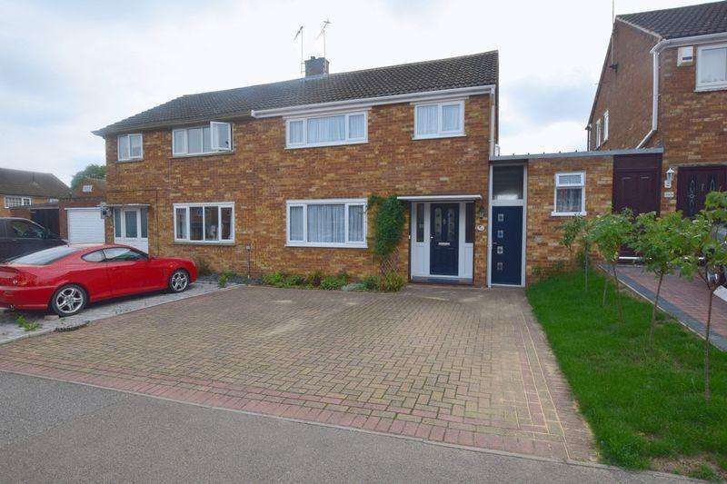 3 Bedrooms Semi Detached House for sale in Whaddon Way, Bletchley, Milton Keynes