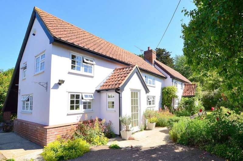 4 Bedrooms Detached House for sale in Mill Lane, Witnesham, IP6 9HR