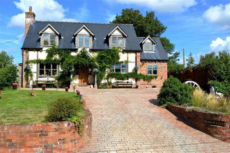 4 Bedrooms Detached House for sale in Glan-y-Llyn, Carno, Caersws, Powys, SY17